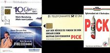 2 S-Karten: S 10 12.98 Hamburg Mannheimer Versicherung + S 58 06.92 PICK Salami