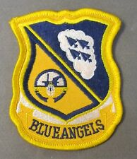 U.S. Navy BLUE ANGELS shield shaped cloth embroidered jacket patch