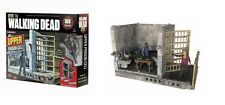 Il WALKING DEAD TV SERIES UPPER PRIGIONE CELLA Costruzione edificio Set Mcfarlane