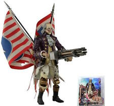 BioShock Infinite Benjamin Franklin heavy bateadores Motorized patriot 23cm OVP neca