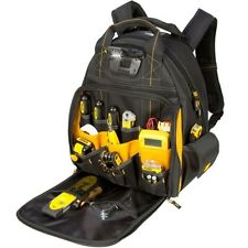 Dewalt 57-Pocket Lighted Tool Backpack Bag
