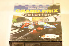 RARE Nelson Piquet Grand Prix Evolution-Racing Big Box Jeu (Pc Jeu) 2000