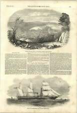 1851 Arabian Screw Steamer Grahamstown Cape Colony