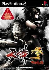 Used PS2 Tenchu 3 SONY PLAYSTATION JAPAN IMPORT
