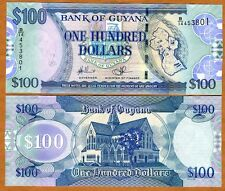 Guyana, 100 dollars, ND (2006), Pick 36, UNC