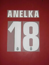 FLOCAGE OFFICIEL ANELKA JUVENTUS AWAY 2012/2013