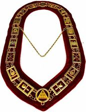 REGALIA MASONIC ROYAL ARCH MARK MASTER METAL CHAIN COLLAR