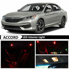 16x Red Interior LED Lights Package Kit for 2013-2017 Honda Accord