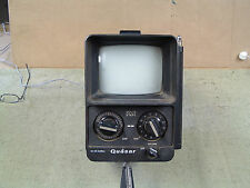 VINTAGE QUASAR SOLID STATE PORTABLE TV / DATED JULY 1978