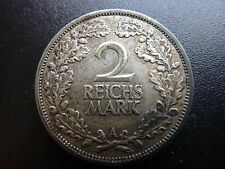 1926A 2 Reichs Mark Silver Coin Germany