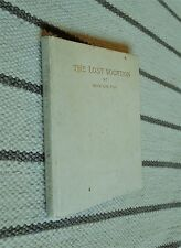 + Marion Fox + THE LOST VOCATION + 1st Signed + POEMS + Supernatural + RARE +