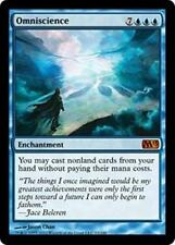 OMNISCIENCE M13 Magic 2013 MTG Blue Enchantment MYTHIC RARE