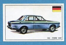 STORIA DELL'AUTOMOBILE Panini Figurina-Sticker n. 155 - FORD 12M -Rec