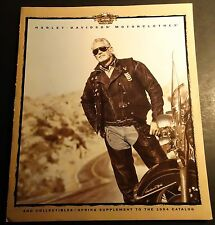 HARLEY-DAVIDSON MOTORCYCLE SPRING 1994 MOTOR CLOTHES ACCESSORIES BROCHURE (646)