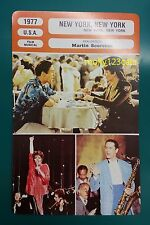 US Musical New York,New York Liza Minnelli Robert De Niro French Film Trade Card