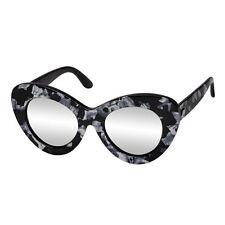 Le Specs Go Go Go Sunglasses - Black Marble / Silver