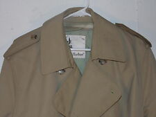 Wear In  Good Health Men's Trench Coat Size 42 R Double Breasted  Misty Harbour