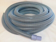 "Deluxe Pool Vacuum Vac Hose with Swivel Cuff, 25 Feet(25') by 1-1/2 Inch (1.5"")"