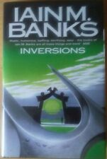 Iain M Banks INVERSIONS UK HB First Edition ORBIT 1998 Hardcover Novel in DJ