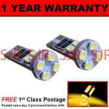 W5w T10 501 Canbus Error Free ámbar 8 Led sidelight Laterales Bombillos X2 sl101605