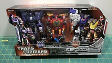 Transformers Universe - Challenge at Cybertron - Galvatron Cyclonus Rodimus MISB