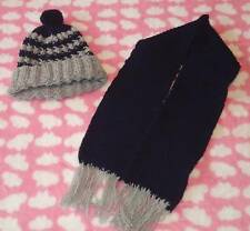 Boys Hand Knitted Hat and Scarf Set - BRAND NEW!