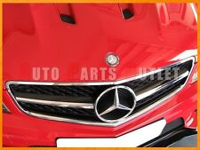 2008-2011 M-BENZ W204 C63AMG Sedan Only Black Sereis Look 1 Fin Front Grille