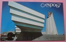 Great Britain Pavilion Expo 67 Montreal Canada - Unused Postcard  #4