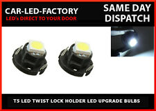 SEAT LEON 2000-06 T5 LED Upgrade Rear Interior Reading Light Neo Wedge bulbs x2