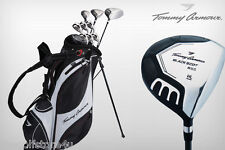Tommy Armour All Graphite Full Golf Club Set New Mens Golf Clubs Stand Bag