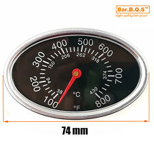 01T01 22549 BBQ Pit Smoker Grill Thermometer GAUGE Temp Outdoor Camp Cook Food