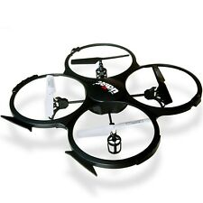 UDI U817A 2.4GHz 4 CH 4 Axis Remote Control Gyro RC Quadcopter UFO RTF Mode 2