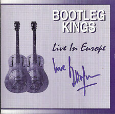BILL WYMAN ROLLING STONES BOOTLEG KINGS CD LIVE IN EUROPE SIGNED