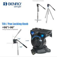 Benro Pro Video Head Fluid Head 3D Tripod Video Camera Monopod Head 2.5Kg U2Z3