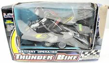 Battery Operated Thunder Bike Motorcycle Toy