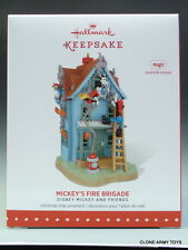 NEW 2015 Mickey's Fire Brigade Mouse Disney HALLMARK KEEPSAKE ORNAMENT 2016 MIB