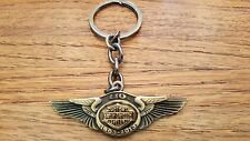 HARLEY DAVIDSON 110th Anniversary WINGS LOGO KEYCHAIN