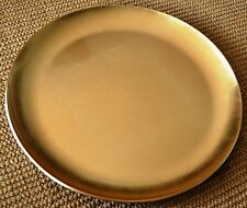 Japanese New OLD Stock GOLD FOIL LACQUER WAGASHI Tea CEREMONY Plate Serving BOX