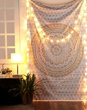 Indian Decor Mandala Tapestry Wall Hanging Hippie Throw Twin Bohemian Bedspread