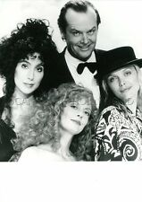 JACK NICHOLSON CHER MICHELE PFEIFFER THE WITCHES OF EASTWICK 1987 VINTAGE PHOTO