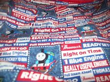 2 layer  Thomas the tank cotton red minky   baby toddler personalized  blanket