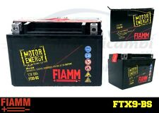 BATTERIA FIAMM WIND FTX9BS 8 AH AMPERE 12 VOLT AVVIAMENTO MOTO SCOOTER YTX9-BS
