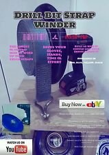 Drill Bit Strap Winder X2 - The easiest and fastest way to wind up truck straps