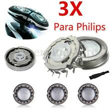 3x Afeitadora Cabezal Cuchilla Genérico para Philips HQ8 HQ804 HQ9 HQ906 PQ2 YS5