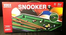 Kids Snooker Table World Champion Pool Set Ideal For Starter Kids Brand New