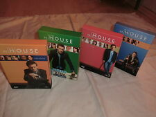 Dr. House Season 1-4 / 13 DVDs / 3611 Minuten / komplett in Pappschuber