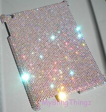 16ss CRYSTAL AB Diamond Bling Case for Apple iPad 1 made with Swarovski Elements