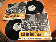 "D'OYLY CARTE OPERA COMPANY ""THE GONDOLIERS"" 1963 Aus 2x12"" Lp ACLA1151/2  NMINT+"