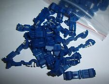 (25) Metra T-TAP Quick Wire Connector Blue 18-14 Gauge AWG Car Audio Terminals