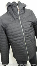 TIMBERLAND Black Primaloft Padded Jacket Quilted with Hood M Water Resistant New